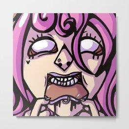 Edgygirl. Metal Print