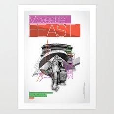 Paris (1 of 5) Art Print