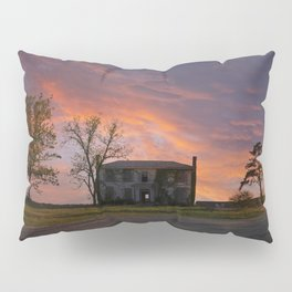 Old House at Sunset Pillow Sham