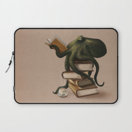 Well-Read Octopus Laptop Sleeve