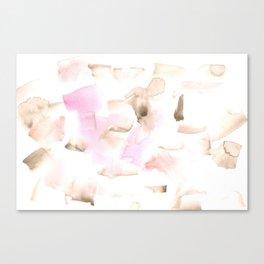 180515 Watercolour Abstract Wp 7 | Watercolor Brush Strokes Canvas Print