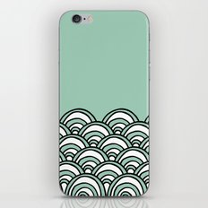 Waves Mint iPhone & iPod Skin