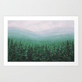 Pacific Wonderland Art Print