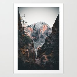 through the walls of zion Art Print