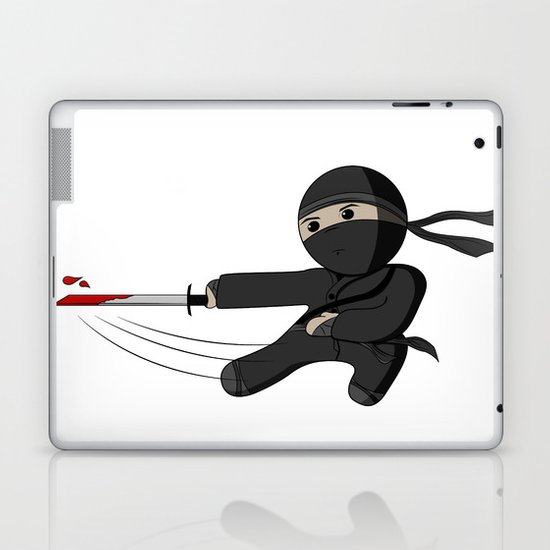 Ninja Swing Laptop & iPad Skin