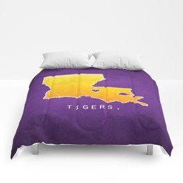 Louisiana State Tigers Comforters