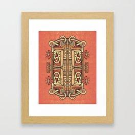 Tribalien Framed Art Print