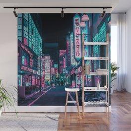 A Neon Wonderland called Tokyo Wall Mural