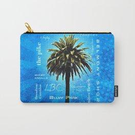 Long Beach, California - Palm Tree -  Pop Art Carry-All Pouch