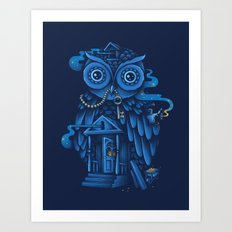 Guardian of the Night Art Print
