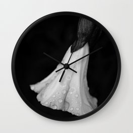Dressed in Dew Wall Clock