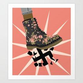 Smash Facism Art Print