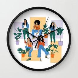Cool Girls Wall Clock