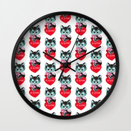 Hi, Kitten! Wall Clock