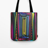 frames Tote Bags featuring Frames by Niko Psitos