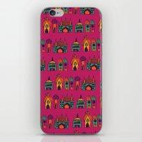 india iPhone & iPod Skins featuring India by cactus studio