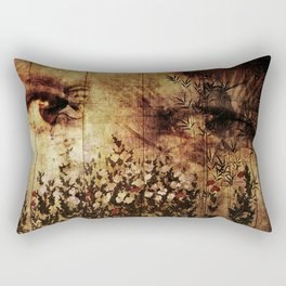 In Your Mothers Eyes Rectangular Pillow