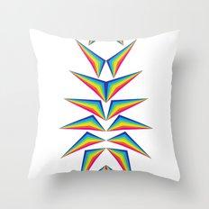 Delta Diamond Throw Pillow