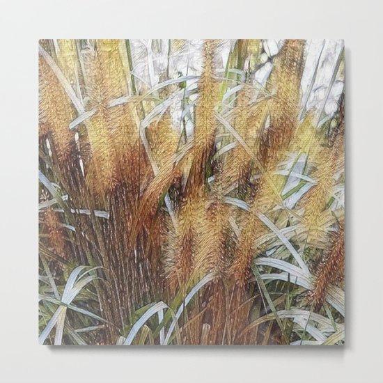 Seagrass Metal Print