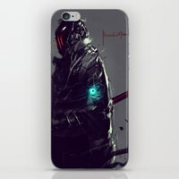 sandman iPhone & iPod Skins featuring Dark Fall Sandman by Benedick Bana