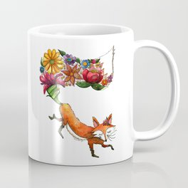 Hunt Flowers Not Foxes One Coffee Mug