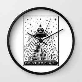 destroy us! Wall Clock