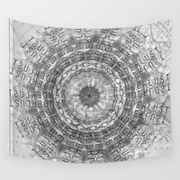 wanderlust Wall Tapestries featuring Wanderlust by Hope