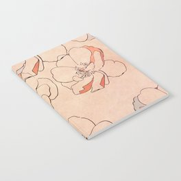 Painted Wild Roses Notebook