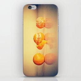Fruit Orange Clementines iPhone Skin