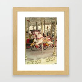 Paris, The Tuileries Garden - Carousel Framed Art Print