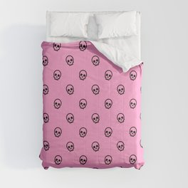 Pink Skull Pattern Comforters