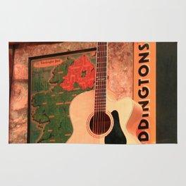 Pub Guitar Rug