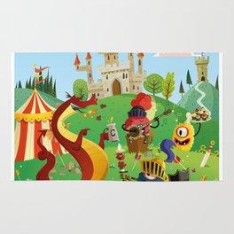 the medieval adventure Rug