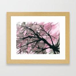Atomic Blossom Framed Art Print