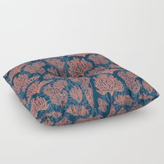 Layered Corals Floor Pillow