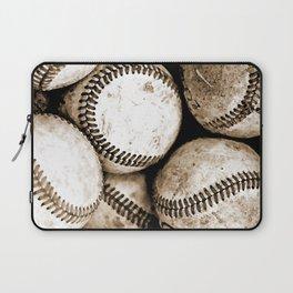 Bucket of baseballs Laptop Sleeve