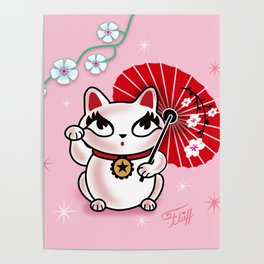 Kyoto Kitty Poster