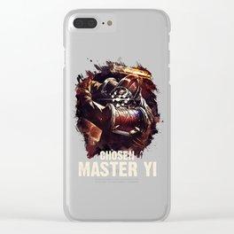League of Legends CHOSEN MASTER YI Clear iPhone Case