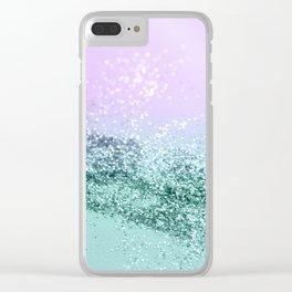 Mermaid Girls Glitter #4 #shiny #decor #art #society6 Clear iPhone Case