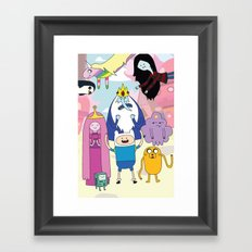 Adventure Time! Framed Art Print