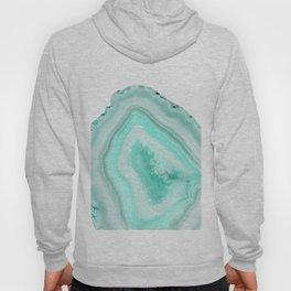 Soft Turquoise Agate Dream #1 #gem #decor #art #society6 Hoody