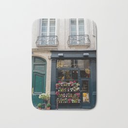 Flower Shop, Paris Bath Mat