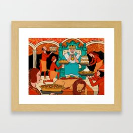 King's Rider Framed Art Print