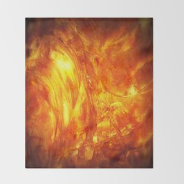 Surface Of The Sun - Leo - Science - Hipster - Hot Throw Blanket
