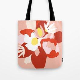 Floral composition Tote Bag