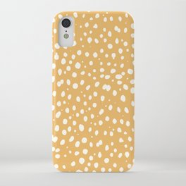 LEOPARD YELLOW iPhone Case