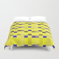 "pixel Duvet Covers featuring ""Pixel"" by Mr and Mrs Quirynen"