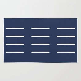 Organic / Navy Rug