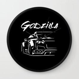 GT-R R35 Godzilla Wall Clock