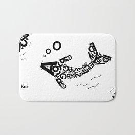 Koi Bath Mat